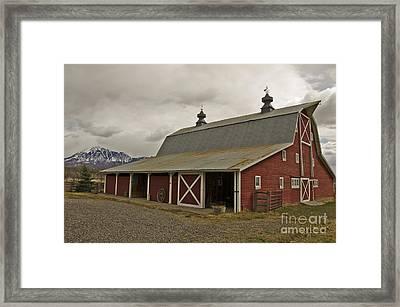 Classic Colorado Country  Framed Print