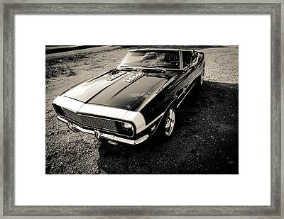 Classic Convertable Camaro  Framed Print