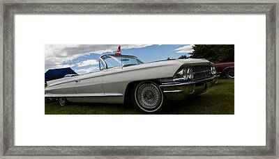 Framed Print featuring the photograph Classic Convertible by Mick Flynn