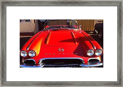Classic Corvette Framed Print