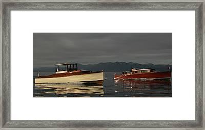 Lake Tahoe Classics Framed Print