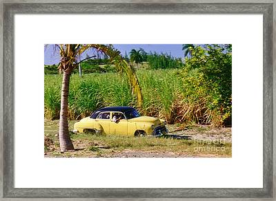 Classic Cuba Framed Print by Halifax Photographer John Malone