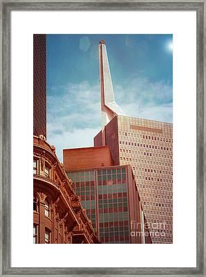 Classic Dallas Framed Print by Sonja Quintero