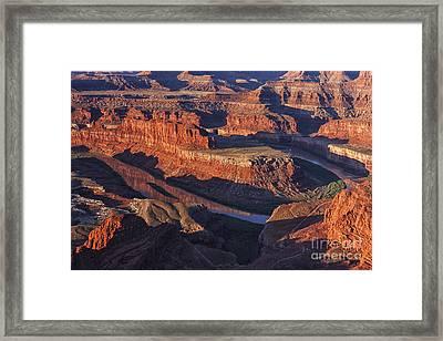 Classic Dead Horse Point Sunrise Framed Print by Mark Kiver