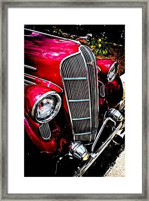 Framed Print featuring the photograph Classic Dodge Brothers Sedan by Joann Copeland-Paul