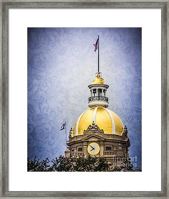 Classic Dome Framed Print by Perry Webster