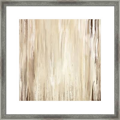 Classic Essence - Distressed Art Framed Print by Lourry Legarde