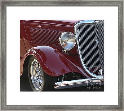 Classic Ford Car Framed Print