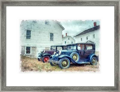 Classic Ford Model A Cars Framed Print