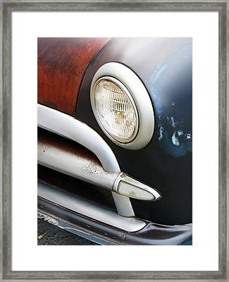 Classic Ford Project Car Framed Print