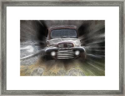 Classic Ford Truck Framed Print by Steve McKinzie