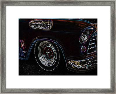 Classic Glow Framed Print