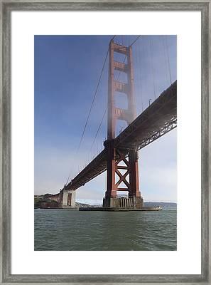 Classic Golden Gate Framed Print by Scott Campbell