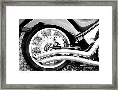 Classic Honda Detail Framed Print