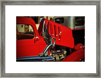 Classic Hood Ornament  Framed Print
