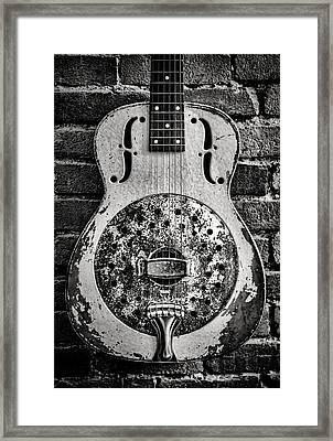 Classic In Black And White Framed Print by Heather Applegate
