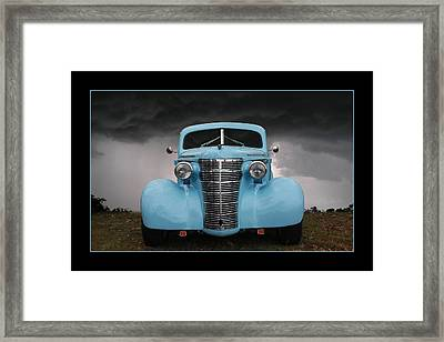 Framed Print featuring the photograph Classic In Blue by Keith Hawley