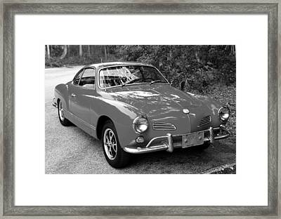 Classic Karmann Ghia Framed Print
