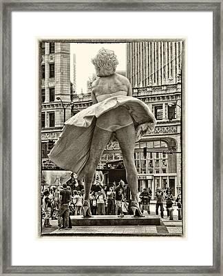Classic Marilyn Framed Print