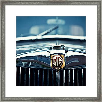 Classic Marque Framed Print by Dave Bowman