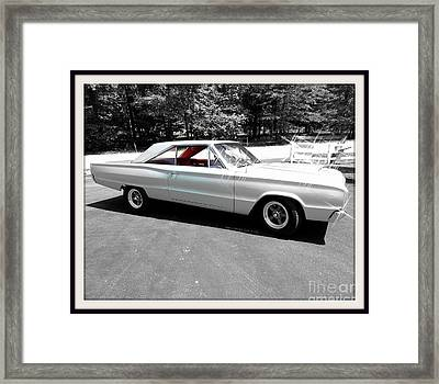 Classic Matt Framed Print by Angelia Hodges Clay