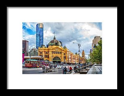 Victoria Tower Framed Prints