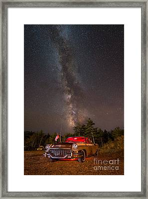 Classic Milky Way Framed Print by Michael Ver Sprill