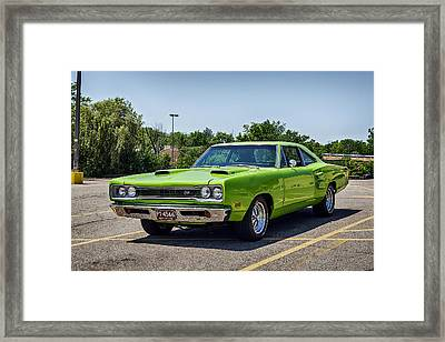 Classic Muscle Framed Print