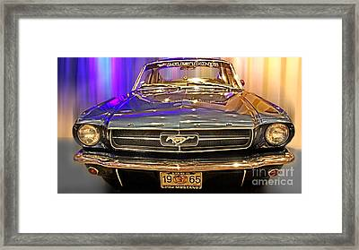 Classic Mustang Framed Print by Tom Gari Gallery-Three-Photography