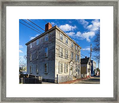 Classic New England Architecture Framed Print by Mark E Tisdale