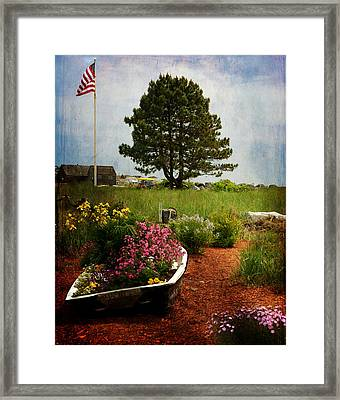 Classic New England Framed Print by Tricia Marchlik