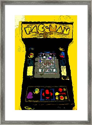 Classic Pacman Framed Print by David Lee Thompson