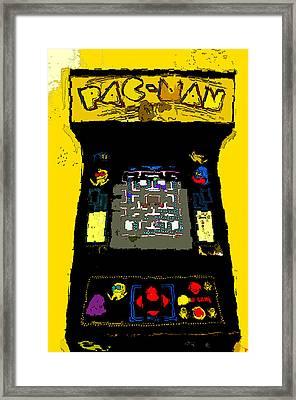 Classic Pacman Framed Print