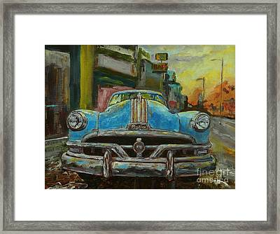 Classic Pontiac Framed Print by William Reed