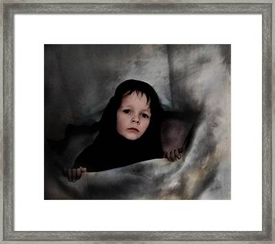 Classic Portrait Of A Son Framed Print