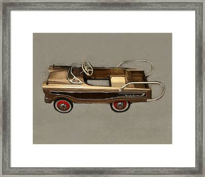 Classic Ranch Wagon Pedal Car Framed Print