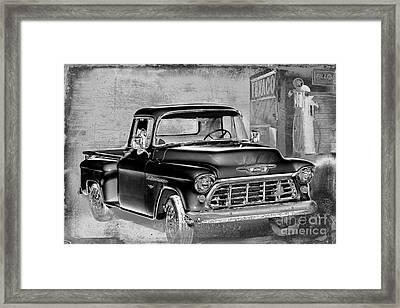 Classic Ride Framed Print by Betty LaRue