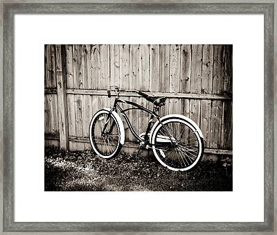 Classic Ride Framed Print by Sara Frank