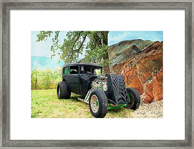 Classic Rod Framed Print by Liane Wright