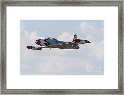 Classic Thunderbird Framed Print by Brandon Hussey