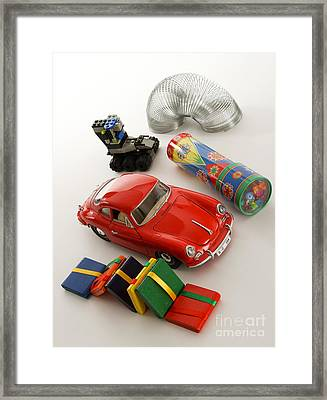 Classic Toys Framed Print by Photo Researchers