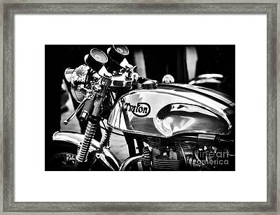 Classic Triton Framed Print by Tim Gainey