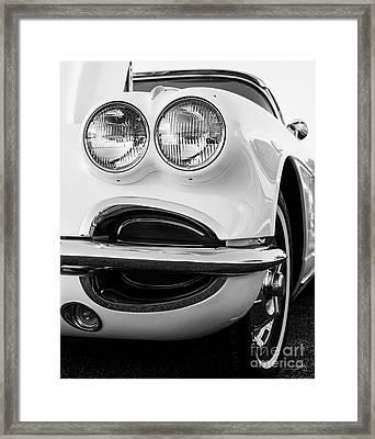 Classic Vette Framed Print