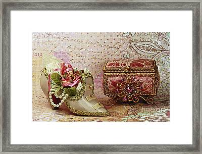 Classic Victorian Moments Framed Print