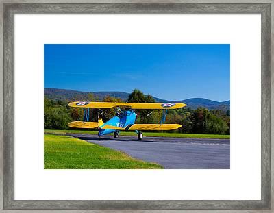 Classic Warbird Framed Print