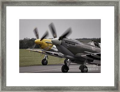 Classic Warbirds Framed Print by J Biggadike