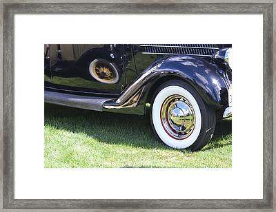 Classic Wheels Framed Print