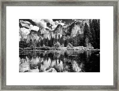 Classic Yosemite Framed Print by Cat Connor