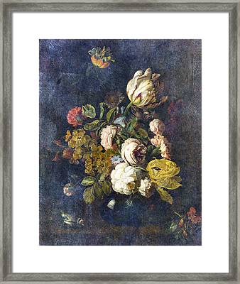Classical Bouquet - S0104t Framed Print by Variance Collections