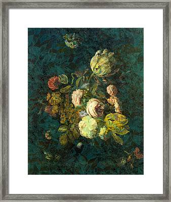 Classical Bouquet - S04bt01 Framed Print